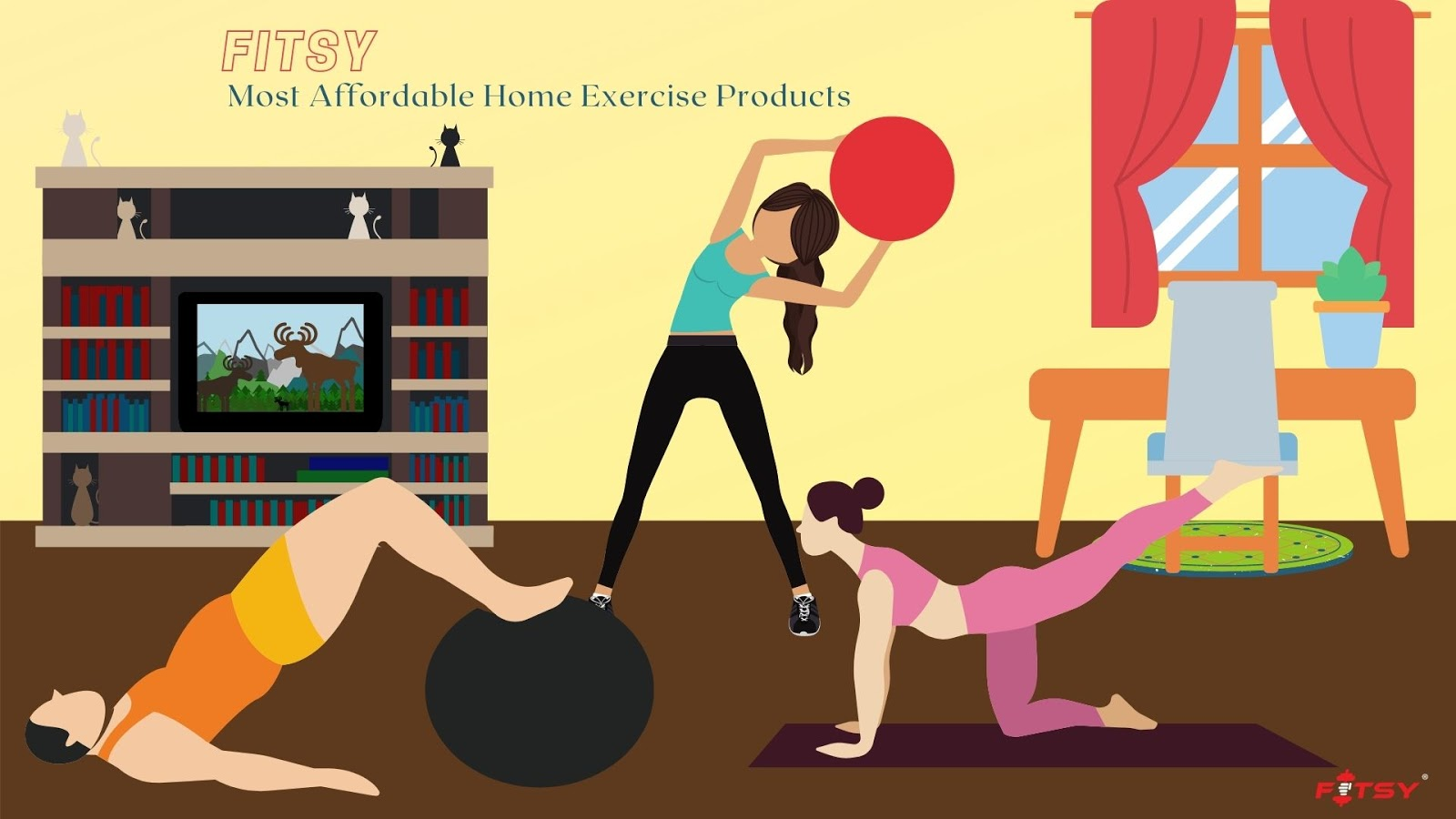 Why Should You Buy Affordable Workout Equipment for Home Gym Offered by FITSY?