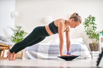 Balance Board & Gym Balls