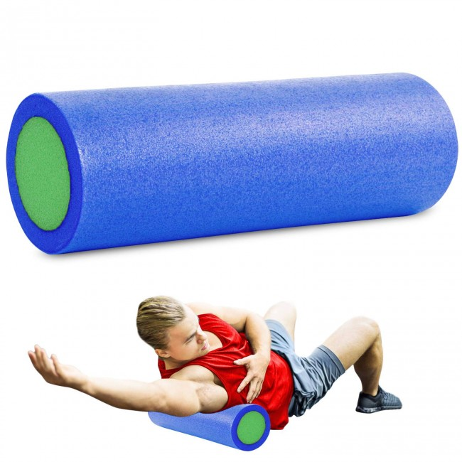 FITSY EPE Deep Tissue Yoga Foam Roller - 18 Inches
