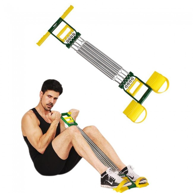 FITSY® Ab Exerciser With Built-in Chest Expander & Hand Gripper