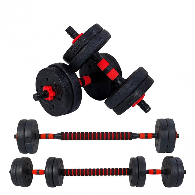 FITSY Adjustable Dumbbell Set - 10 kg