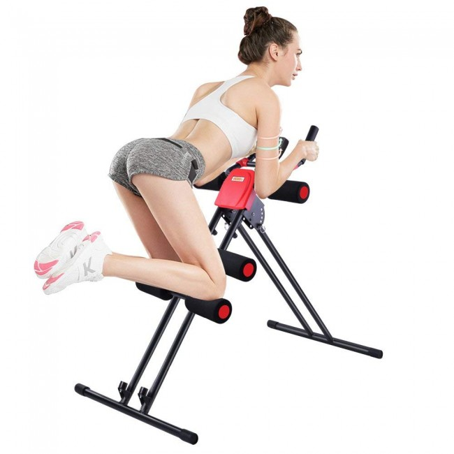 FITSY® Ab Trainer / Glider Roller For Abdominal Workout