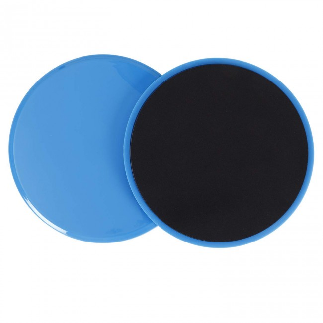 FITSY Core Sliders Dual Sided Gliding Disc for Total Body Workout