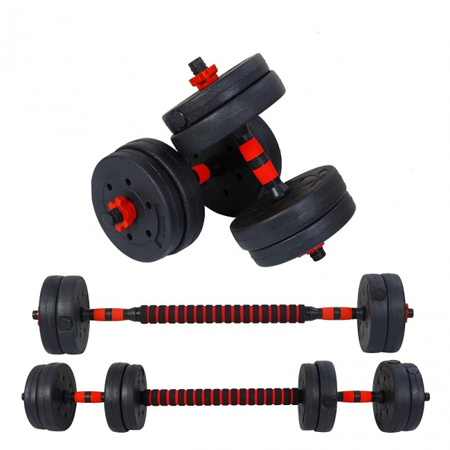FITSY Adjustable Dumbbell Set - 15 kg