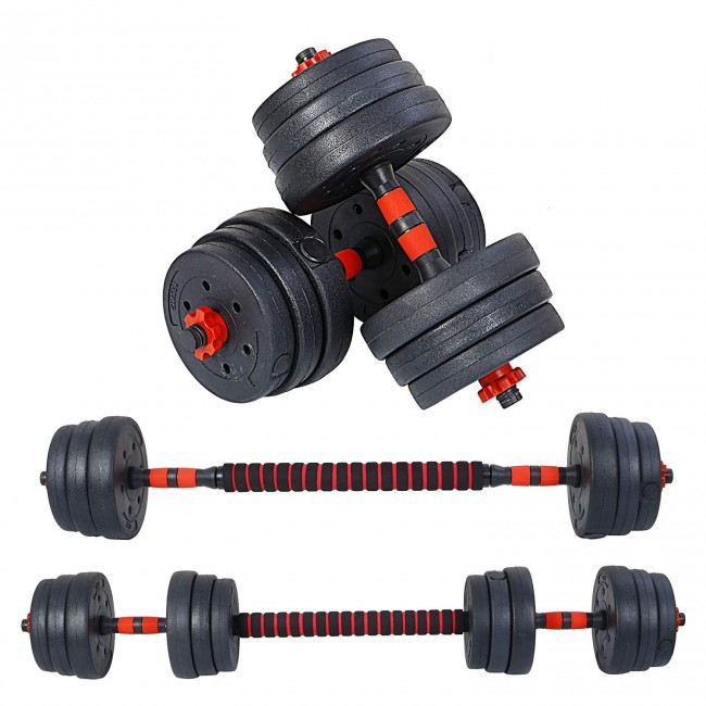 FITSY Adjustable Dumbbell Set - 20 kg