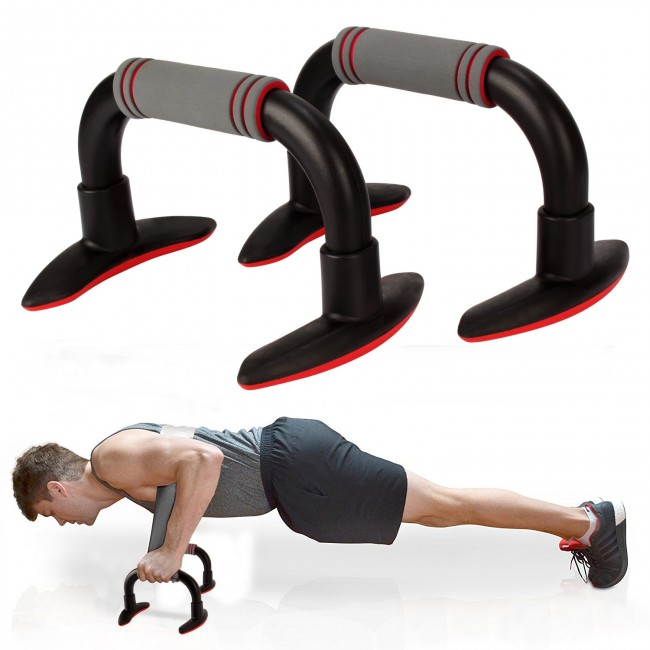 FITSY Push Up Bar Stand for Home Gym Exercise