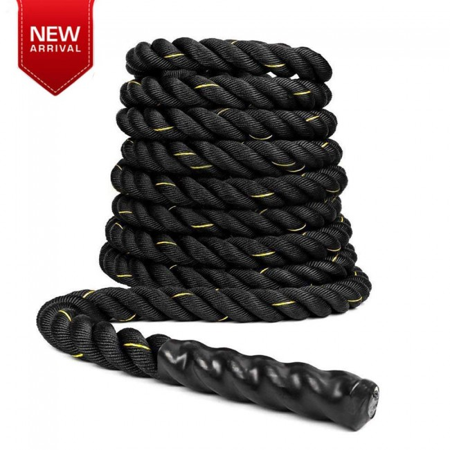 FITSY® Gym Battle Rope 9 Meter (30 ft) & 1.5 Dia.