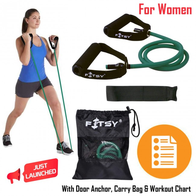 FITSY Green Toning Tube - Designed Specifically for Women - Beginner Level