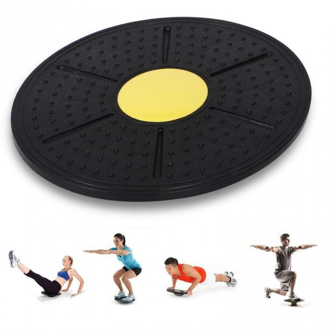 FITSY Nonslip Massage Point Wobble Balance Board