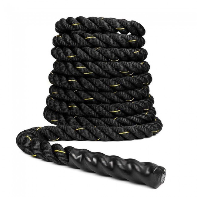 FITSY Gym Battle Rope 9 Meter (30 ft) & 1.5 Dia.