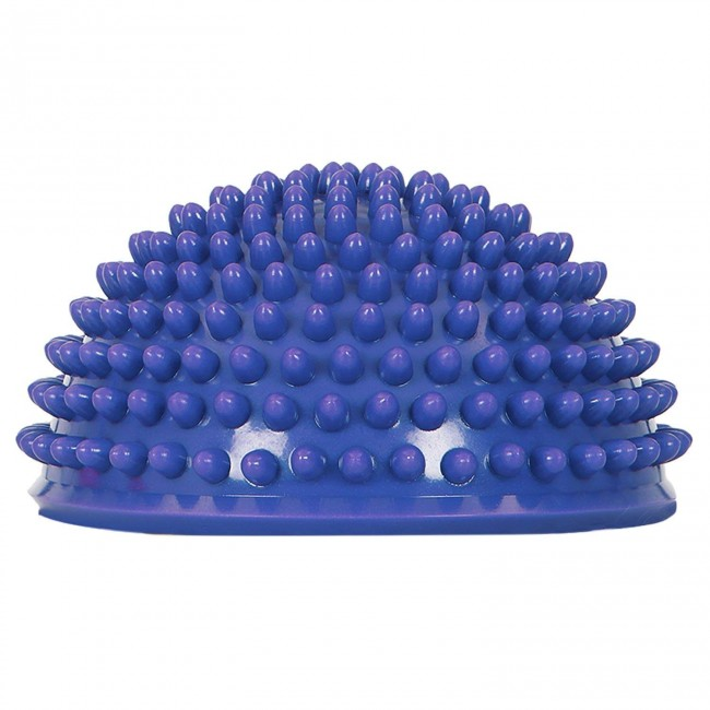 FITSY® Hedgehog Balance Pod Half Ball Dome Exercise Balance Trainer, Blue, Pack of 1