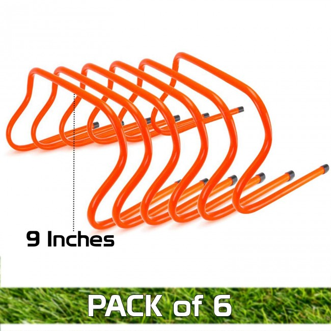 FITSY® Agility Hurdle - 9 Inches - Pack of 6