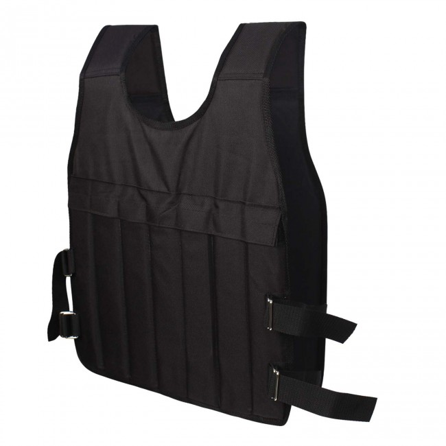 FITSY® Adjustable Weighted Vest for Men, Women - 10 KG