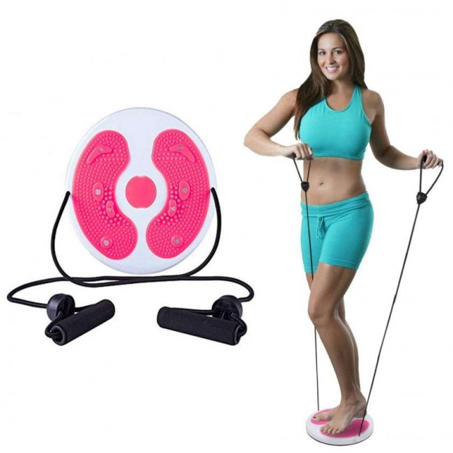 FITSY Waist Twisting Disc with Resistance Tube
