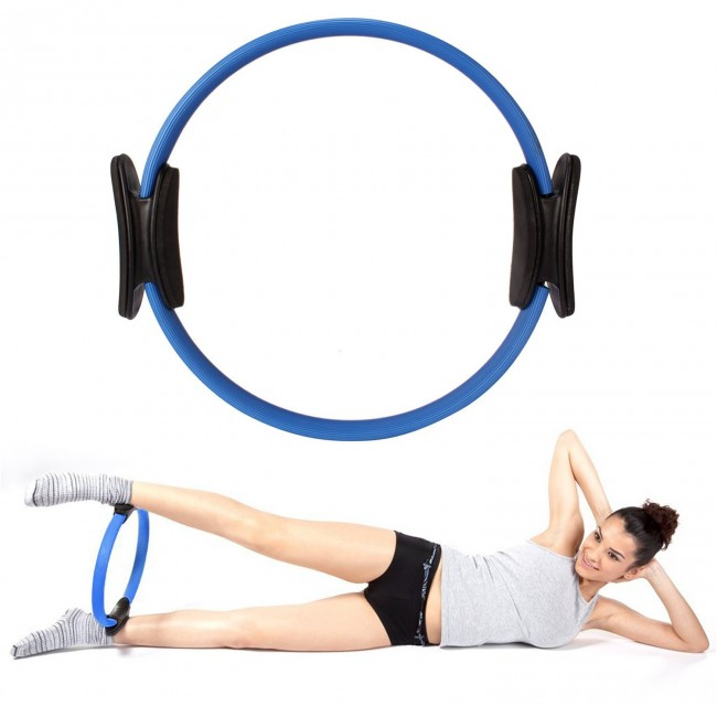 FITSY Yoga Exercise Ring Magic Circle - Blue Color