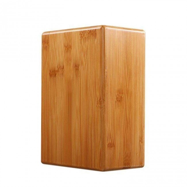 FITSY Wooden Yoga Block Brick - Pack of 1