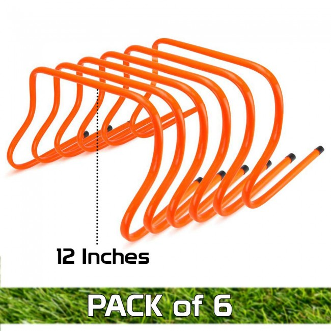 FITSY Agility Hurdle - 12 Inches - Pack of 6