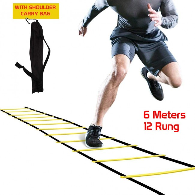 FITSY® Agility Ladder with Carrying Bag -  6 Metre